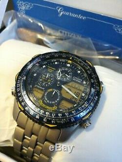 Citizen Promaster Watch Blue Angels C300 Titanium In Box All Accessories