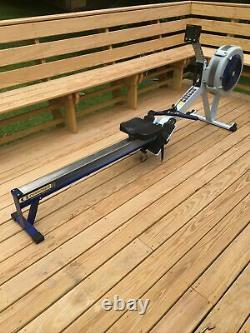 Concept2 Model D 2004 Indoor Rower with PM3 Performance Monitor Grey/Blue