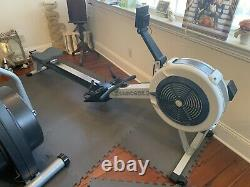 Concept2 Model D Indoor Rower with PM5 Performance Monitor Gray