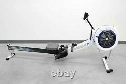 Concept2 Model D Rower PM5 Performance Monitor Gray Excellent Condition
