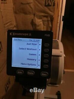 Concept2 Model E Indoor Rower with PM5 Grey