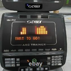 Cybex 750AT Total Body Arc Trainer TV Console 750 AT