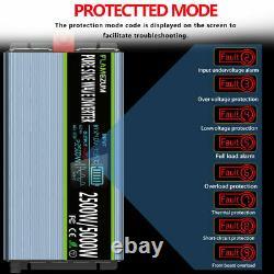 DC 24V To AC 110V 120V Power Inverter Pure Sine Wave 2500W 5000W Solar Converter