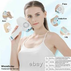 ENZO Laser Hair Removal Machine IPL Permanent Painless Epilator Face Body UK