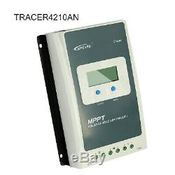 EPEVER 40A 30A 20A MPPT Solar Charge Controller 12/24V Lithium Battery PV 100V