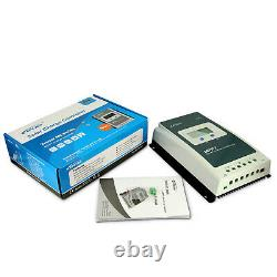 EPEVER MPPT 40A 30A 20A Solar Charge Controller 12/24V Lithium Battery With MT50
