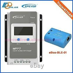 EPEVER MPPT 40A Solar Charge Controller 12V 24V Auto with bluetooth