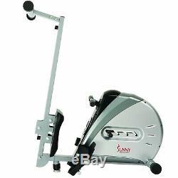 Elastic Cord Rowing Machine Rower Monitor Resistance Calories Burned Adjustable