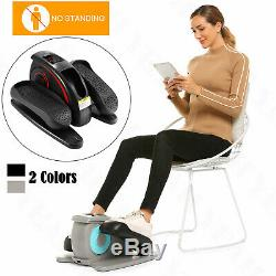 Electric Desk Elliptical Built in Display Monitor, Quiet & Compact Professional
