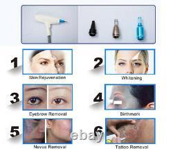 Elight IPL ND YAG laser tattoo removal skin rejuvenation hair removal machine