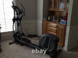 Elliptical By Nordic Track Space Saver. Rarely Used