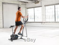 Elliptical Exercise Machine Fitness Trainer Cardio Home Gym Workout Equipment