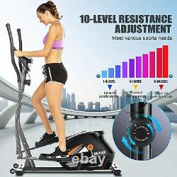 Elliptical Trainer Cross Exercise Bike Fitness Workout Gym Cardio 3 in 1 Machine