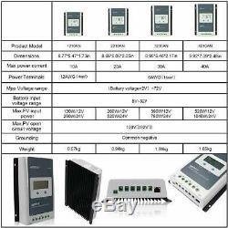 Epever MPPT Solar Charge Controller Tracer AN Power Regulator 12V/24V PV 100V