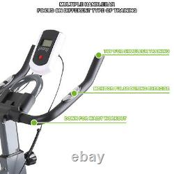 Exercise Bike Bicycle Pro Stationary Cycling Fitness Workout Gym Training Cardio
