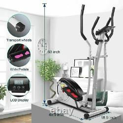 Famous Brand Elliptical Exercise Machine Fitness Trainer Cardio Workout Home Gym