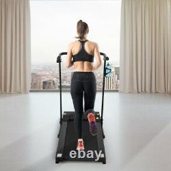 Folding Electric Power Treadmill Motorized Walking Fitness Machine Running Home