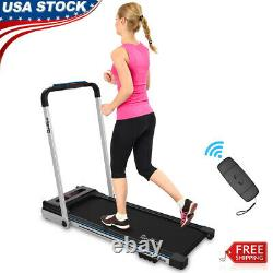 Folding Treadmill Electric Motorized 2.25 HP 2 in 1 Running Machine Home Office