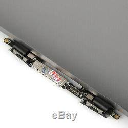 For Apple Macbook Pro 13 A1706 A1708 2016 2017 Gray LCD Display Screen Assembly