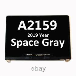 For MacBook Pro 13 A2159 2019 True Tone LCD Screen Display Assembly Space Gray