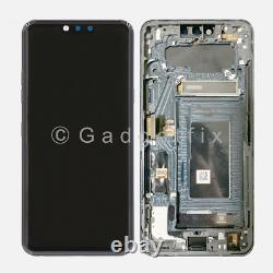 Gray For LG G8 ThinQ OLED Display LCD Touch Screen Digitizer + Frame Replacement