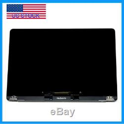 Gray LCD Display Screen Assembly Replacement For MacBook Air 13 A1932 2018 USA