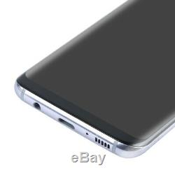 Gray LCD Display Touch Screen Digitizer + Frame Replacement Fr Samsung Galaxy S8