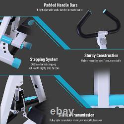 HOMCOM Stepper Fitness Exercise Handle Bar Machine Cardio Foldable Workout
