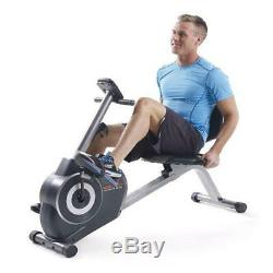 Indoor Cycling Bike Recumbent Exercise Fitness Stationary Pedal Home Exerciser