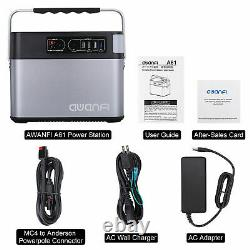 LCD 500Wh Generator Power Supply Energy Storage Station 4USB 2AC DC Quick Charg