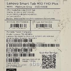 Lenovo Smart Tab M10 FHD Plus 10.3'' with Alexa Built-in ZA6M0030US 2GB +32gb