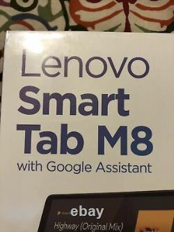 Lenovo Smart Tab M8 withGoogle Assistant Tablet + Smart Charging Docking Station
