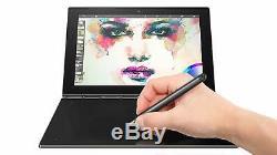 Lenovo Yoga Book 10.1 Drawing Tablet 2 in 1 Intel Quad-Core 64GB SSD Gray