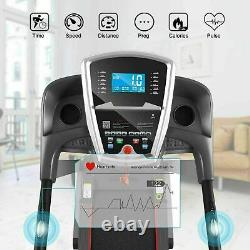 MAX 3.25HP Folding Motorized Electric Treadmill Incline Running Machine with APP
