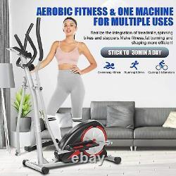Magnetic Elliptical Exercise Cardio Machine Fitness Trainer Home Gym & APP CTRL
