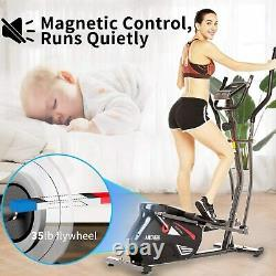 Magnetic Elliptical Exercise Machine with 10 Level Resistance. LCD Display & APP