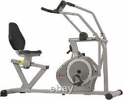 Magnetic Recumbent Exercise Bike 350lb Weight Capacity Home Gym Cardio Machine