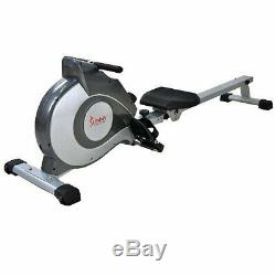 Magnetic Rowing Machine Rower LCD Monitor 8 Resistance Levels Heavy Duty Frame