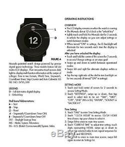 Mavado Bold Digital Touch 2 Watch Black MENS