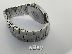 Mens Omega Seamaster Polaris 18K Gold & SS Multifunction Digital watch 2540.50