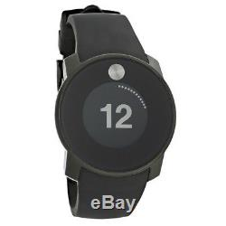 Movado Bold Mens Digital Touch 2 Black Strap Swiss Quartz Watch 3600365