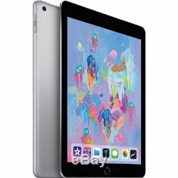 NEW Apple iPad 6th Generation 32GB Space Gray with Apple Warranty Factory Sealed