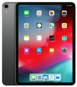 NEW! Apple iPad Pro 3rd Gen. 11in Space Gray 256GB WiFi + Cell (Unlocked) A2013