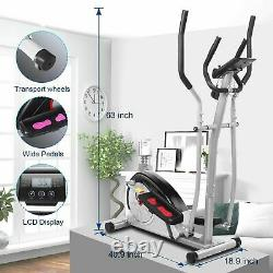 NEW Elliptical Exercise Machine Fitness Trainer Cardio Workout Home Gym Workout