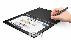 NEW Lenovo YOGA BOOK 10.1 Ultrathin Android Tablet 64GB Wi-Fi Gray YB1-X90F NEW