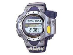 NEW RARE NOS 2000 CASIO SPF10 Sea Pathfinder LCD Digital Thermo Scanner watch
