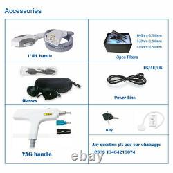 Nd yag laser tattoo removal and Elight hair removal machine 2020 model