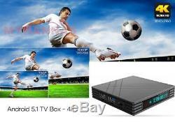 New Arabic English Sports Turkish French Africa 2.4 WIFI Android TV 3GB 32GB Box