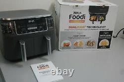 Ninja Foodi 8-qt 2-Basket Dual Air Fryer DZ201 (OB-27D)