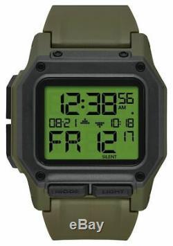 Nixon A1180-3100 Regulus Men's Watch Surplus 46mm Stainless Steel